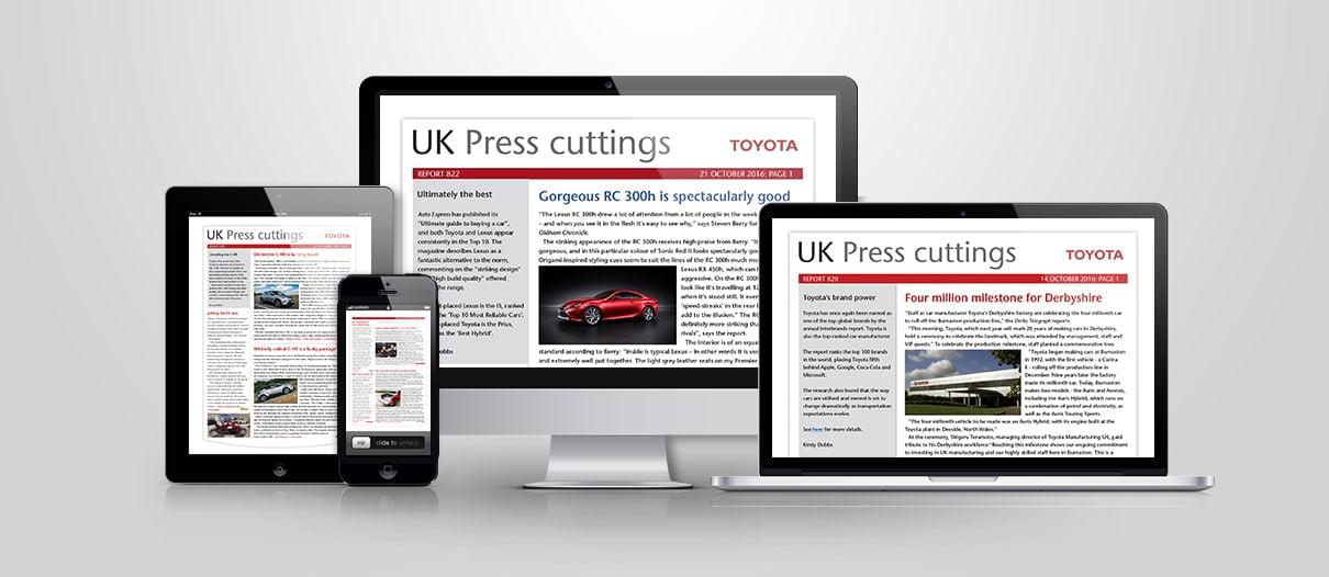 Toyota Press Digest