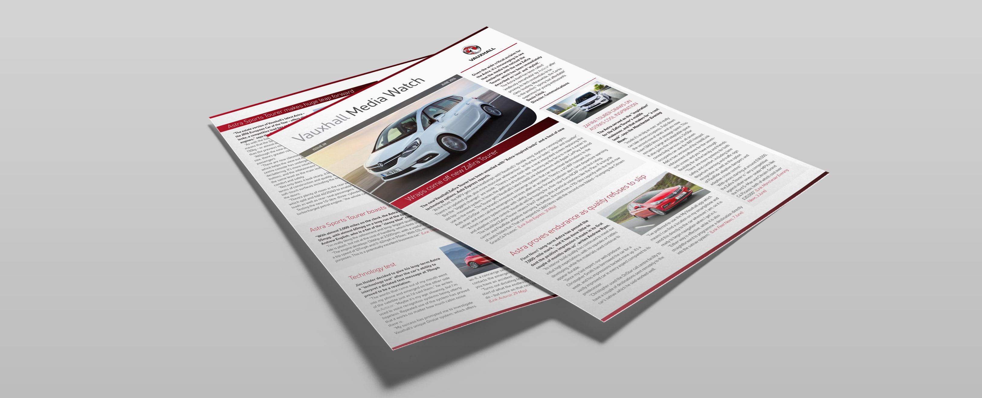 Vauxhall Press Digest