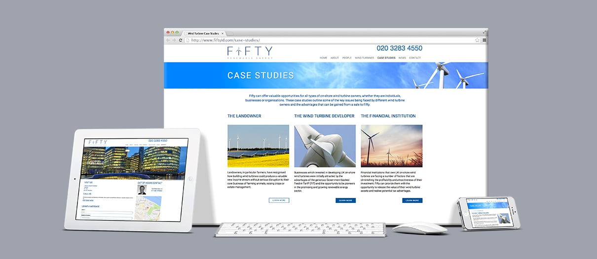 Fifty ID Website Content