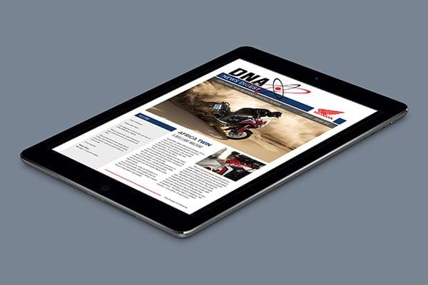 Honda Motorcycles Press Digest