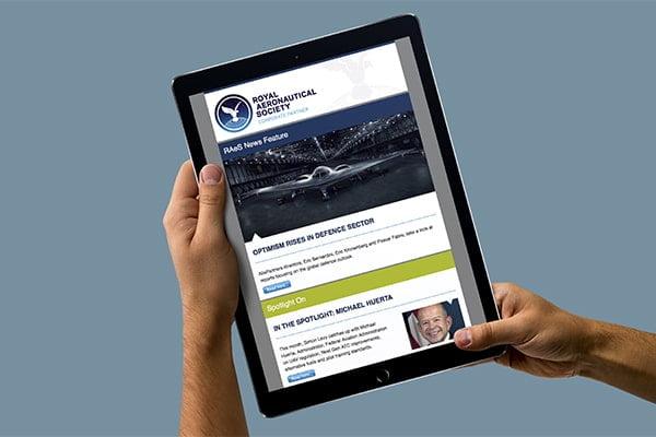 RAeS HTML Newsletter